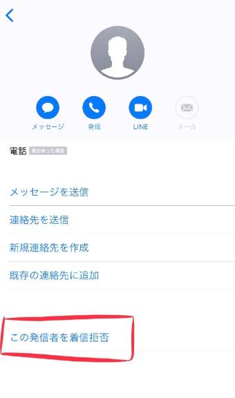 Iphone ショート メール 拒否